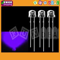 Wholesale OP mm mcd Super Bright Round Light Bulb UV Purple Color LED Lamp LED Light emitting Diodes