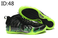 Low Cut Men PU Wholesale 2014 -One pro Mens Sports Basketball Shoes Mens Athleitic Shoes Mens Sneakers Original Shmack Air Foamposite Weatherman