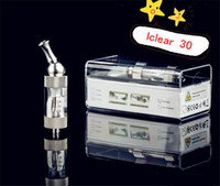 Cheap 100%Genuine Innokin iClear 30 Atomizer 3.0ml Dual Coil Heating Core Changable Electronic Cigarette Clearomizer For iTaste SVD 134 E Mech MOD