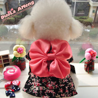 apparel for dogs - Dog apparel Pet Clothes autumn and winter dog clothingTeddy Japanese cherry blossom kimono for dogs S74