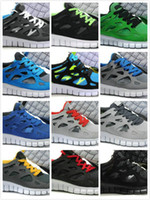 Cheap 2014 Free Run +2 Mens Running Shoes Fashion Sporting Running Training Shoes Sneakers Max Size US 12 EU 40-46