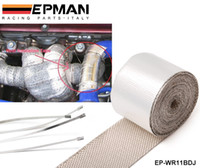 Wholesale Tansky EPMAN High Quality Heat intake Reflective insulation wrap tape induction Silver Have in stock EP WR11BDJ