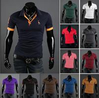 Casual Shirts Short Sleeve Cotton Blend 12 Color New giraffe,men's Short Sleeve T-shirt fashion luxuryCasual Shirts , polo M-XXL