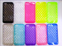 Cheap new arrival Diamond TPU case soft back cover for iphone 5S 5 4S 4 Clear cases for samsung galaxy s3 s4 s5 note3 note 2 i9500 i9600 N9000 5G