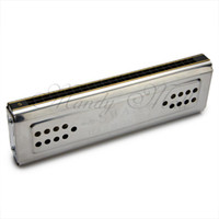 Wholesale OP Holes Double Sided Key C G Tremolo Tuned Harmonica