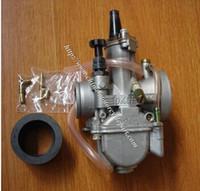 Wholesale OKO mm PWK flat slide performance carburetor for stroke scooter JOG DIO RTL250 CR80 CR85R CR125 NSR50 NSR80 DT100