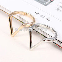 Cheap 2014 HOT Urban Punk Stack Knuckle Midi Ring Band Finger V Rings for Women Party Accessories Free Shipping