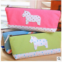 pencil holder - Children s stationery New Cartoon forest pencil case pencil pouch box cosmetic pencil holder bags
