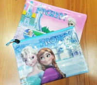 Cheap 2014 new fashion Kids learning items Frozen Pencil Cases Frozen Bags children
