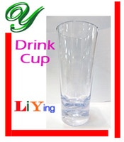 plastic beer cup - water bottles beer drinking mugs beverage glass mugs and cups ml Non friable beer bottle plastic juice bottle bar party drinking glasses