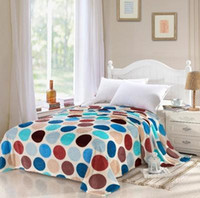 Cheap Cobertor de casal fashion brand bedclothes coral fleece baby quilts and blankets for children on the bed 200*230 020