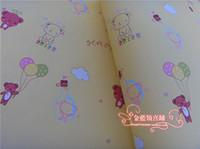 bearing packing material - Gift Wrap Bear Souvenir Packing Paper Handmade Craft Material
