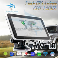 Wholesale new design inch android GPS MID with Car gps and tablet function GHz G dual camera car GPS
