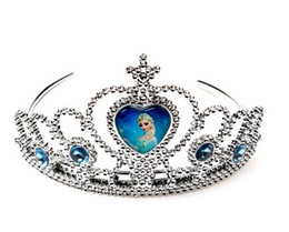Wholesale free shpping Frozen Children s crown Crown princess Anna Elsa Ice and snow country children s crown
