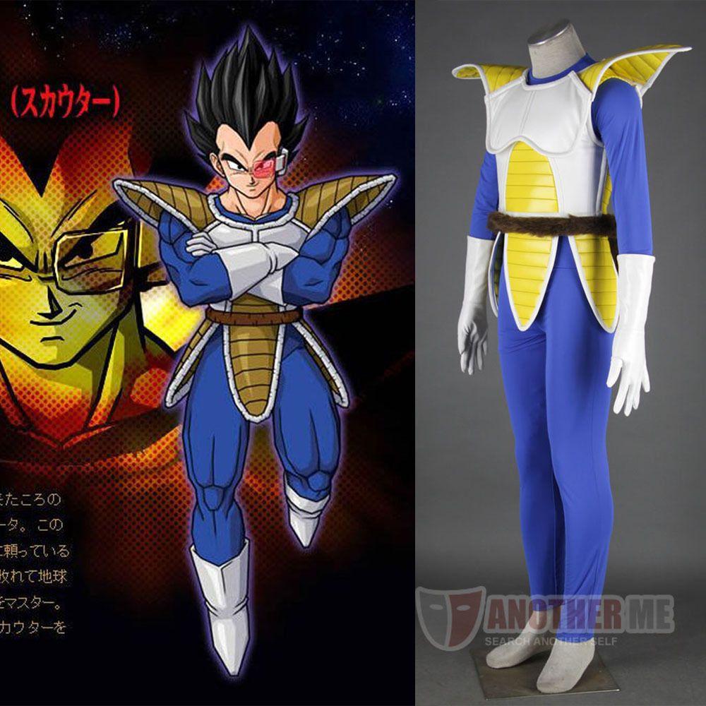 Dragon Ball Z Vegeta I Man Cosplay Costume Halloween Gift Custom ...