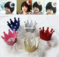 bb jewelry - 2014 fashion baby girls headdress hair jewelry hairpin girl Shiny Crown hairpin Christmas gift BB folder