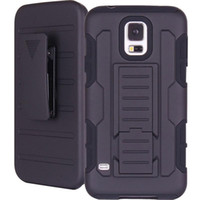 Wholesale A For Samsung Galaxy S5 Future Armor Impact Hybrid Hard Case Cover Belt Clip Holster Kickstand Combo