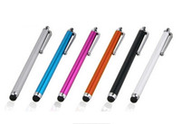Wholesale A Capacitive Stylus Pen Touch Screen For Tablet iPod iPad cellphone iPhone S s Touch pen