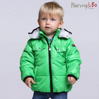 baby lightweight jacket - Harvey Bo baby toddler s kids outwear lightweight boys girls hooded quilted jacket children autumn winter coat