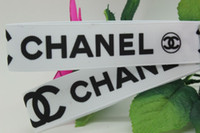 printed ribbon - New fashion printed grosgrain ribbon hairbow diy party decoration OEM mm P1221