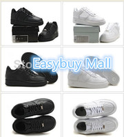 Wholesale Famous Air designer Trainers Force Low top Men and Women Sports Skate Board shoes Sneakers size accept drop shipping
