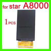 Wholesale OP Original Display LCD Screen Replacement for Star A8000 Android mobile phone WITH TRACKING NO