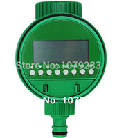 Wholesale OP Irrigation LCD Water Timer With Ball Valve Digital And Electronic LCD Garden Water Timer Low Water Pressure Irrigation System