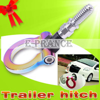 Wholesale 100 Brand New Racing Tow Hook for Janpanese car Four colors tow hitch
