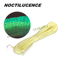 Wholesale High Quality M Lenth KG Tensile Strength Glow Noctilucence Nylon Survival Rope For Camping Fishing Outdoor Sports Traveling