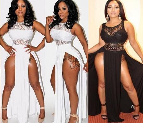 2017 Bandage Bodycon Lace Dress Womens Summer Dresses 2014 Women ...