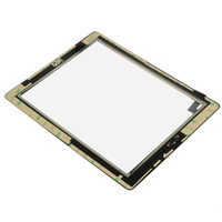 for ipad2 - New Replacement Touch Screen Glass Home Button glue Assembly for ipad ipad2 touch