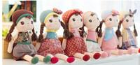 al por mayor juguetes angela-New Angela muñeca de la felpa rellenó el metoo 6 Estilos Baby Dolls Chica Gráfico Kids Fairytale Juguetes B0729