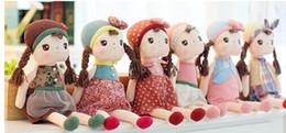 Muñecas del bjd en Línea-New Angela muñeca de la felpa rellenó el metoo 6 Estilos Baby Dolls Chica Gráfico Kids Fairytale Juguetes B0729