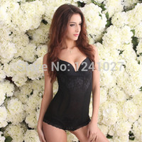 Cheap Women's Bodysuits Waist Training Corsets Sexy Bondage Pants Lady Slimming Underwear Body Shaper Butt Lifter Weight Loss Girdle