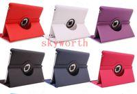 Cheap 360 Degree Rotating Magnetic Stand Leather Case Cover For iPad Air 5 iPad 2 3 4 iPad Mini Retina 2