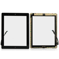 For Apple apple ipad using - Replacement Digitizer Touch Screen Home Button Assembly For ipad3 ipad or ipad Ipad3 and iPad4 all can use