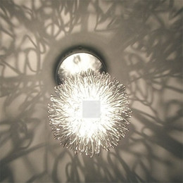 Aluminium wire Pendant light corridor Bad room light porch light foyer light chandelier aluminium wire ball lamps