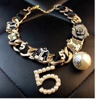 Cheap Autumn 2014 The latest version pearl bow pendant diamond flower Necklace + Bracelet jewelry set
