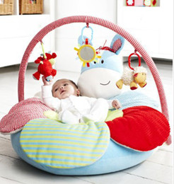 Wholesale OP Elc inflatable baby play mat game bed baby sofa belt mount inflatable tube