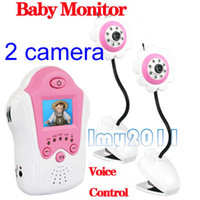 Wholesale Flower Design inch TFT LCD G Wireless Baby Monitor camera Night Voice Vision