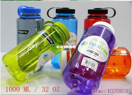 Wholesale OP US American Original Nalgene wide mouth water bottle ml pc casual sports bottle glass tritan bpa free