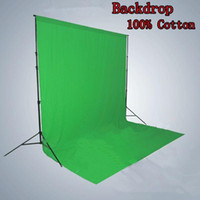 green screen - 1 x2 m100 Cotton Chromakey Green Screen Muslin Backdrop Photography Background
