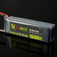 Cheap 1pcs A+ for Lion 11.1V 2800mah 30C Lipo Battery Power for RC Model Car Helicopter 450 3D Newest!