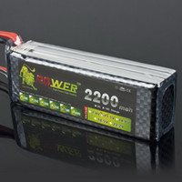 Cheap 1pcs A+ for Lion 11.1V 2200mah 40C Lipo Battery Power for RC Model Car Helicopter 450 3D Newest!