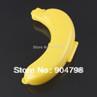Cheap 1pcs Yellow Banana Holder Case Saver Box 100% brand new