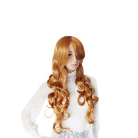 Cheap Lower Price 5 Color Wig Cheap Long Wave Cos Hair Ladies Cosplay Costume Wig