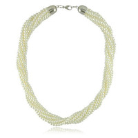 twisted pearl necklace - New Jewelry Twist Pearl Necklaces Fashion Pearl Jewelry Minimum Order is USD10