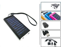 Wholesale Hot selling New arrival mAh Portable Multi Solar Panel Charger External Battery for Mobile Cell Phone Digital Camera MP
