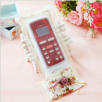 Wholesale Special new Mona Series Countryside Rose Lace The remote controller sheath Factory direct supply YKQ001