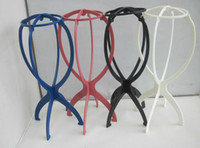 wig stand - 100pcs Stable Durable Wig Stand wis Holders High Quality Hair Wig Stand Holder for beauty salon use jm